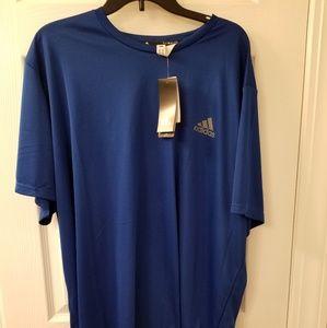 NWT Adidas climalite shirt - mens size 3XLT